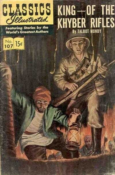 Classics Illustrated - Classics Illustrated Issue #107