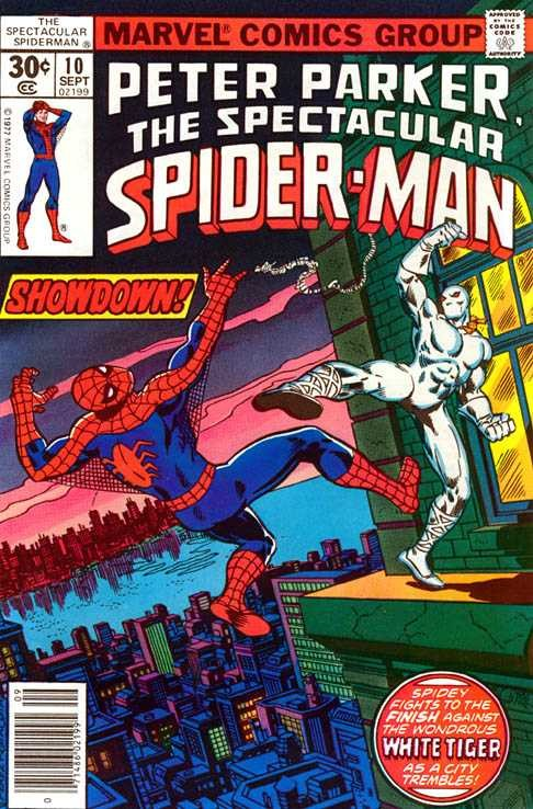 Marvel - spectacular spiderman Issue #10
