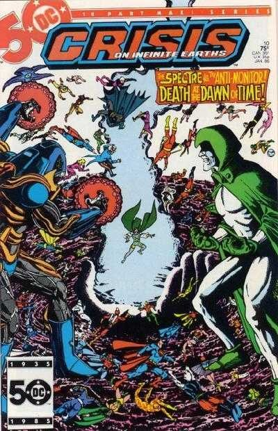 DC - Crisis on Infinite Earths  Issue #11