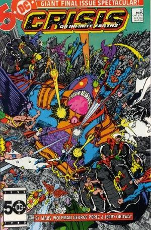 DC - Crisis on Infinite Earths  Issue #12
