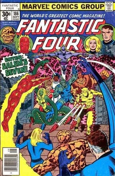 Marvel - Fantastic Four Issue #186