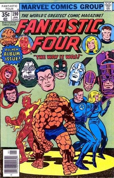 Marvel - Fantastic Four Issue #190