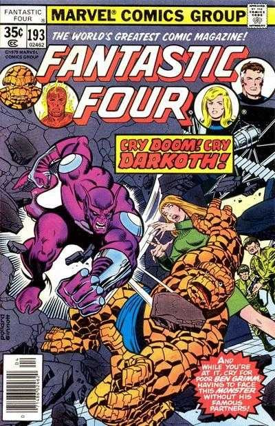 Marvel - Fantastic Four Issue #193