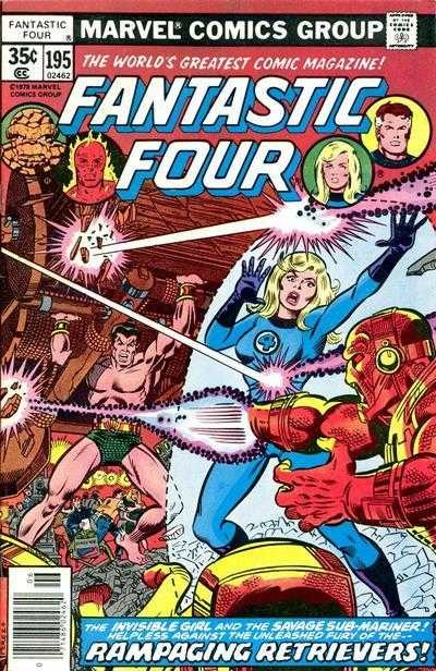 Marvel - Fantastic Four Issue #195