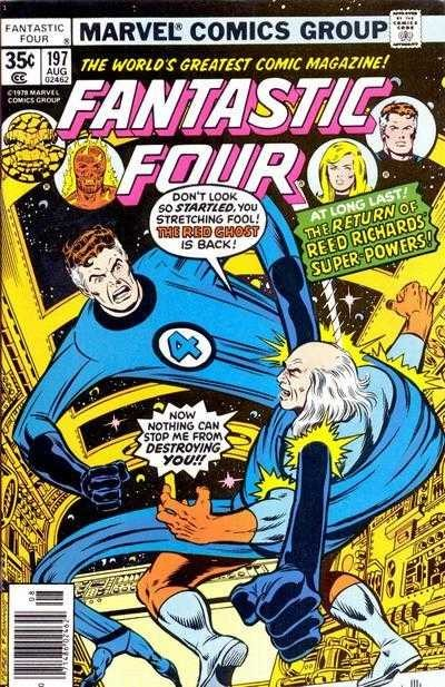 Marvel - Fantastic Four Issue #197