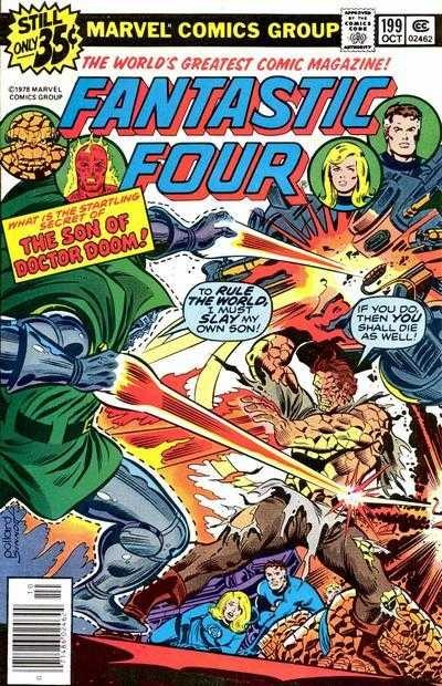 Marvel - Fantastic Four Issue #199