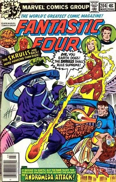 Marvel - Fantastic Four Issue #204
