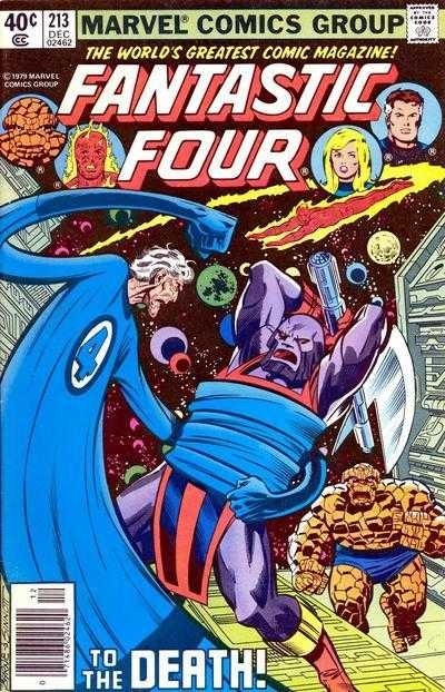 Marvel - Fantastic Four Issue #213