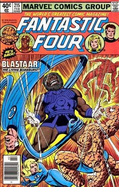 Marvel - Fantastic Four Issue #215