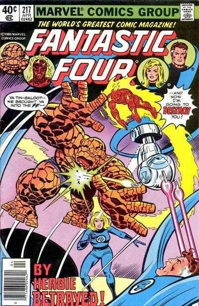 Marvel - Fantastic Four Issue #217