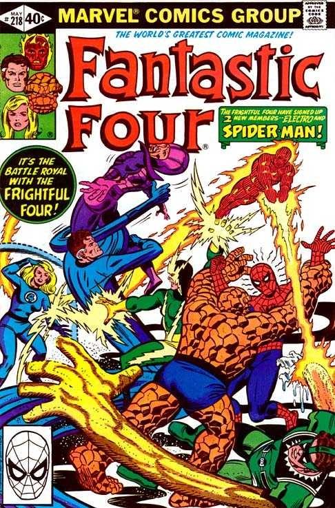 Marvel - Fantastic Four Issue #218