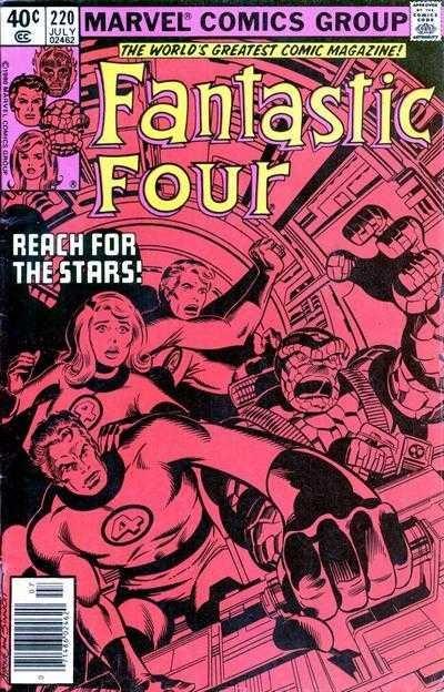Marvel - Fantastic Four Issue #220