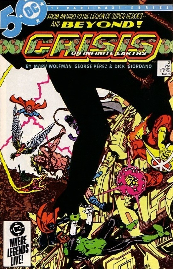 DC - Crisis on Infinite Earths  Issue #2