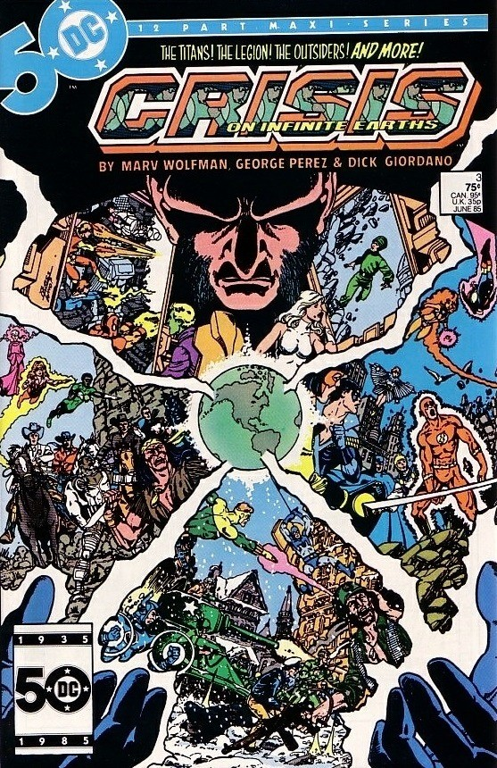 DC - Crisis on Infinite Earths  Issue #3