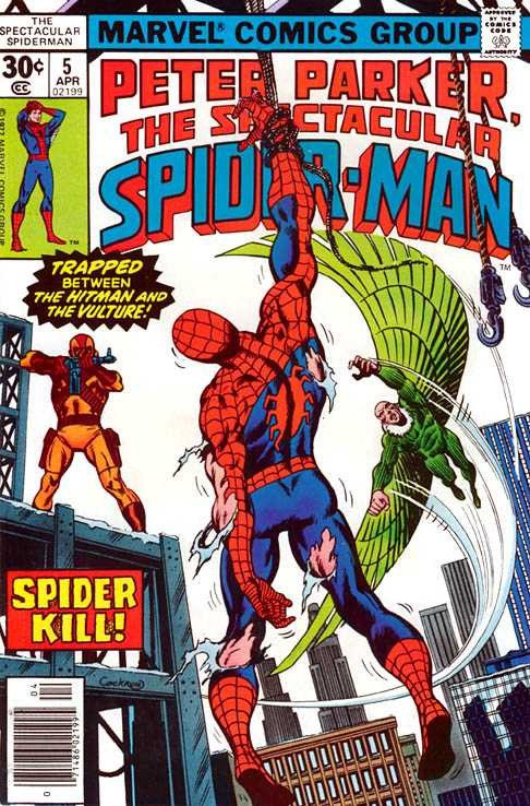 Marvel - spectacular spiderman Issue #5