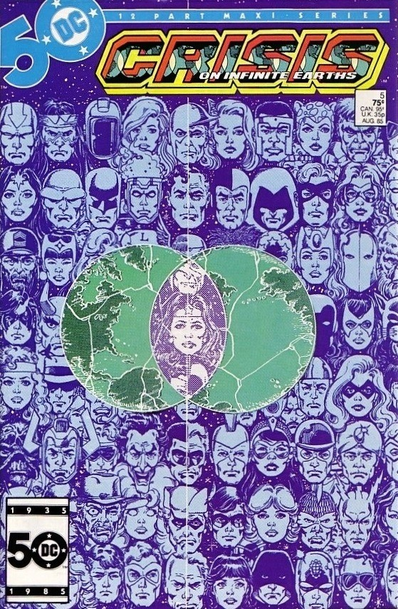 DC - Crisis on Infinite Earths  Issue #5