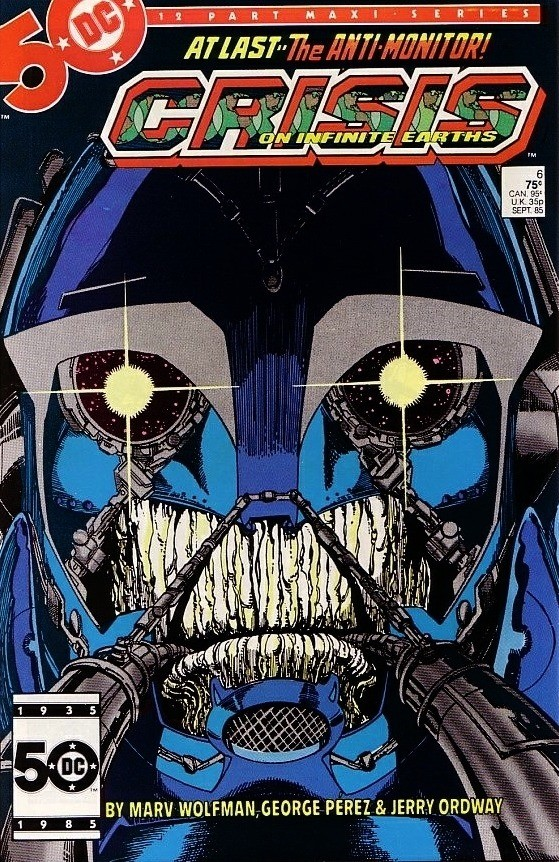 DC - Crisis on Infinite Earths  Issue #6