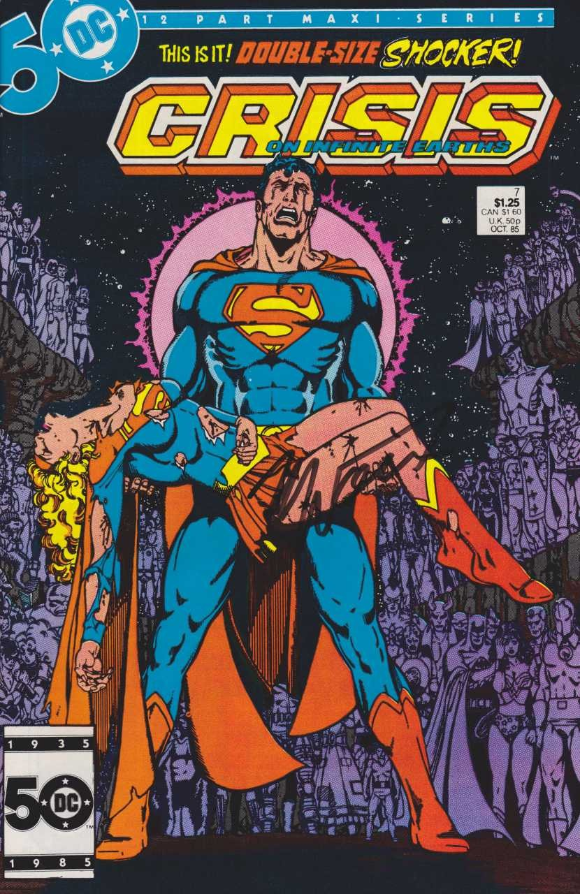 DC - Crisis on Infinite Earths  Issue #7