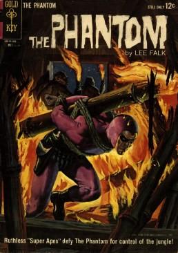 Gold Key - The Phantom Issue #7
