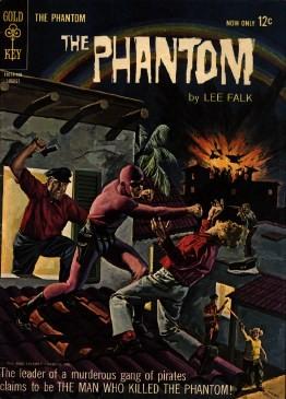 Gold Key - The Phantom Issue #8