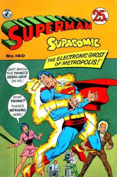 Colour Comics Ltd - Superman Supacomic Issue #160