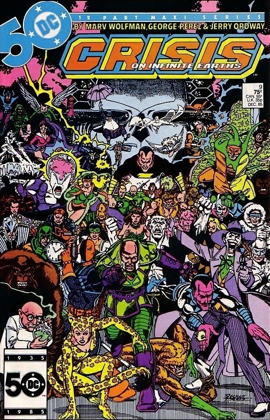 DC - Crisis on Infinite Earths  Issue #9