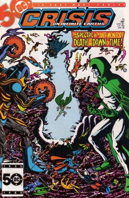DC - Crisis on Infinite Earths  Issue #10