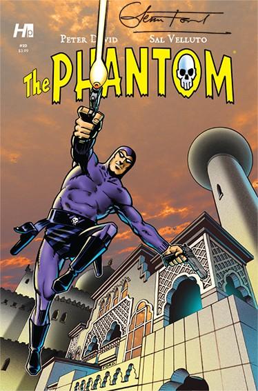 Hermes Press - The Phantom Issue #2D – signed: Glenn Ford