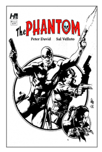 Hermes Press - The Phantom Issue #Black & White Variant  1D