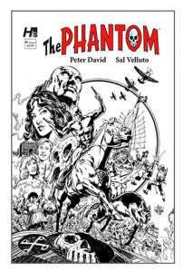 Hermes Press - The Phantom Issue #Black & White Variant  1E