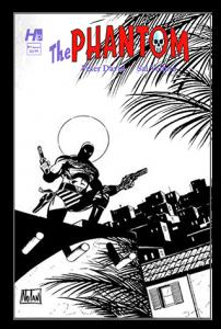 Hermes Press - The Phantom Issue #Black & White Variant  1F
