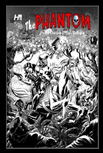 Hermes Press - The Phantom Issue #Black & White Variant  1G