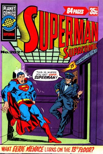 Planet Comics - superman Supacomic Issue #202